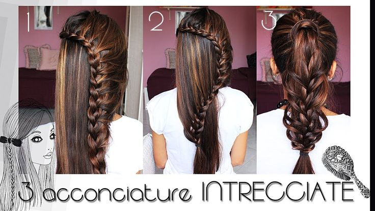 TUTORIAL CAPELLI : 3 acconciature inTRECCIAte