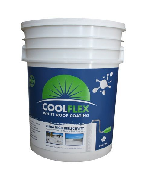 Coolflex Roof Coating Roofing Plastic Roofing