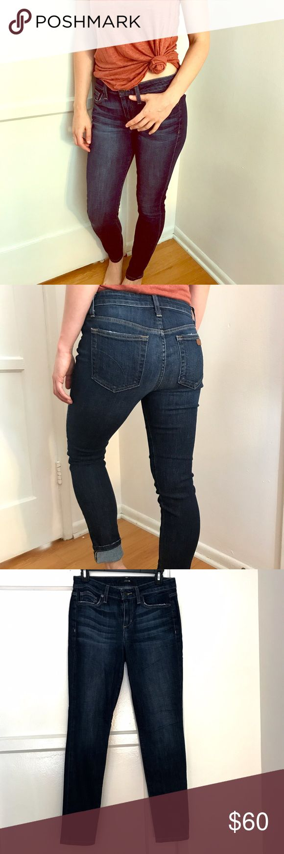 Joe's skinny ankle jeans These are petite skinny jeans that are perfect for my vertically challenged friends, and make a great cuffed option for my tall friends too. Joe's Jeans Jeans Skinny