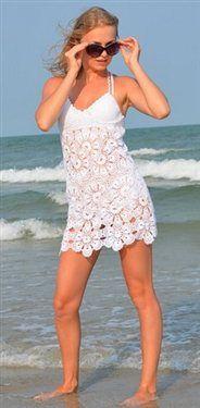 Free pattern summer dress - Crochet Me... https://www.youtube.com/watch?v=vA4LaIoGtkE