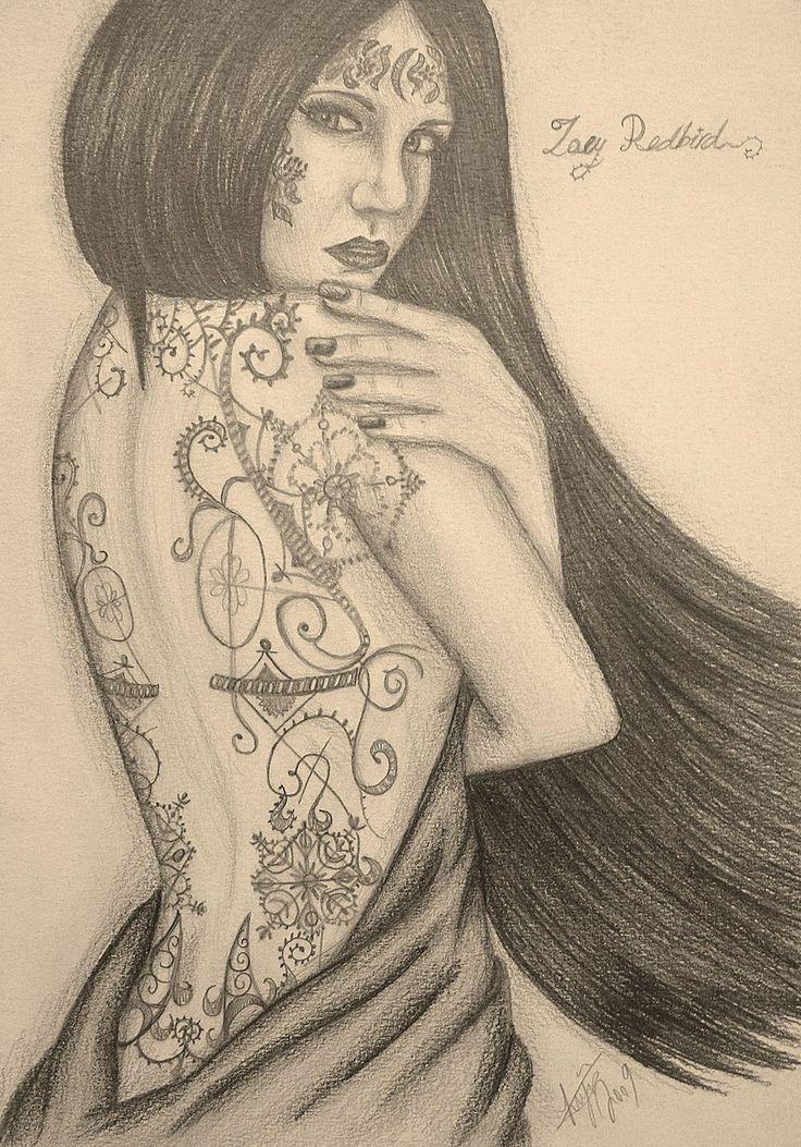 Zoey Redbird, from House of Night Series  http://fc09.deviantart.net/fs71/i/2011/039/3/f/zoey_redbird_by_bklh362-d2emydh.jpg