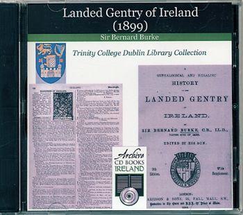 Burke's Landed Gentry of Ireland 1899