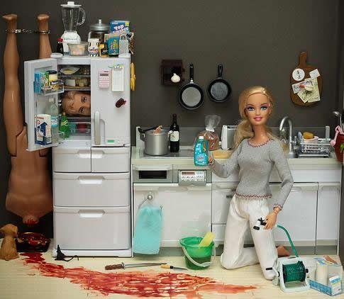 Barbie sérial killeuse barbie serial killer crime scene 01 bonus