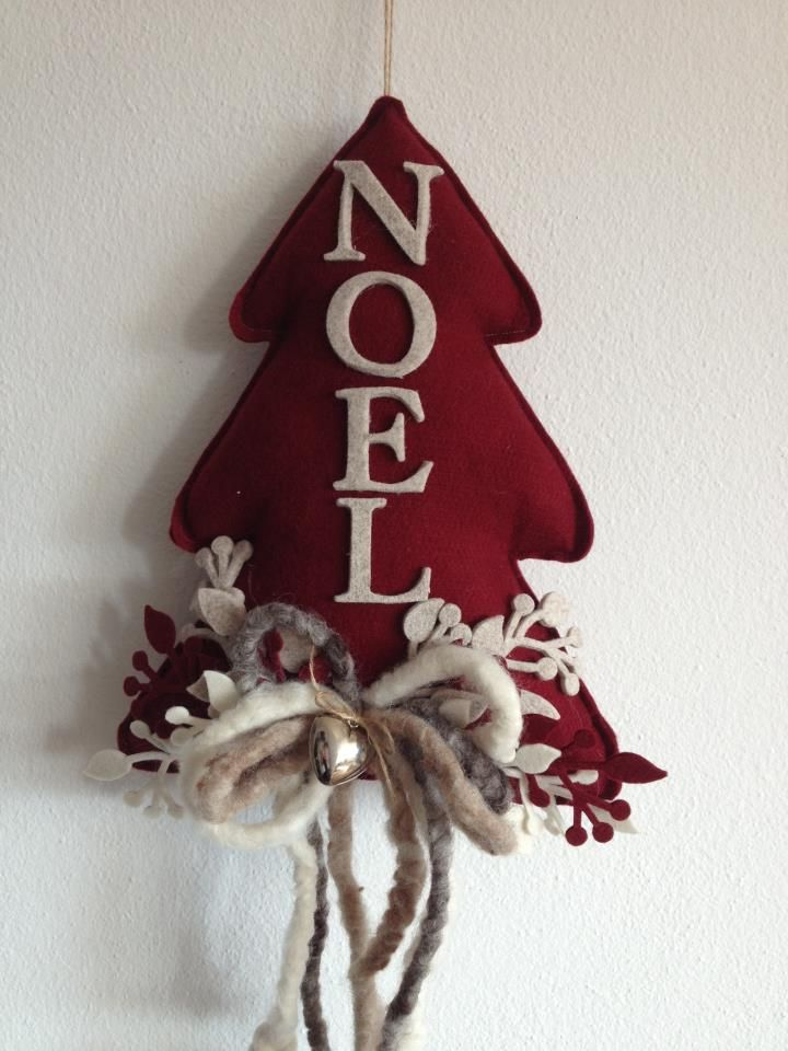 .een kerstboom net even anders Kijk voor vilt eens op http://www.bijviltenzo.nl