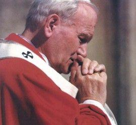 Johannes Paul II. war ein grosser Beter und Denker.