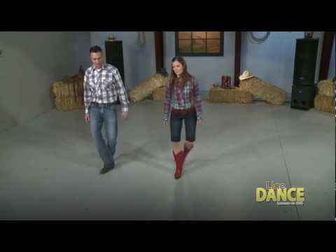 How to Line Dance - Slappin' Leather Line Dance video