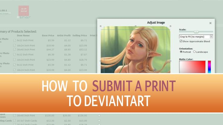 In this tutorial I show you how to submit a print to DeviantArt and what to look out for. #DeviantArtTutorial #DeviantArt #SubmitPrint