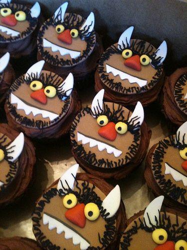 Wild Thing Cupcakes!
