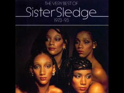 Sister Sledge - We Are Family......Ah, 80s disco! Love it, love it, love it!.....although this track was 1979!