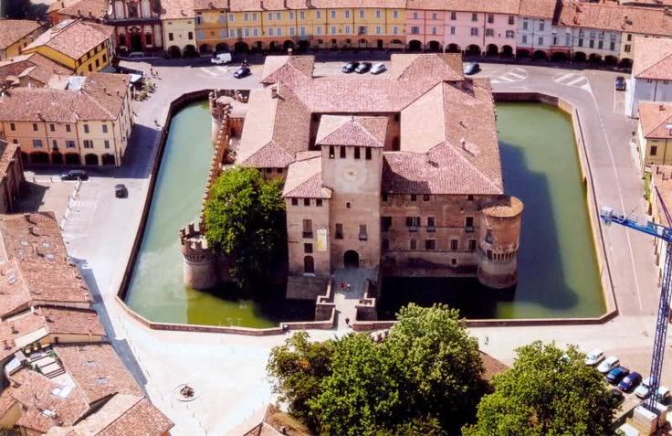 Castle of Fontanellato, near Parma, Italy