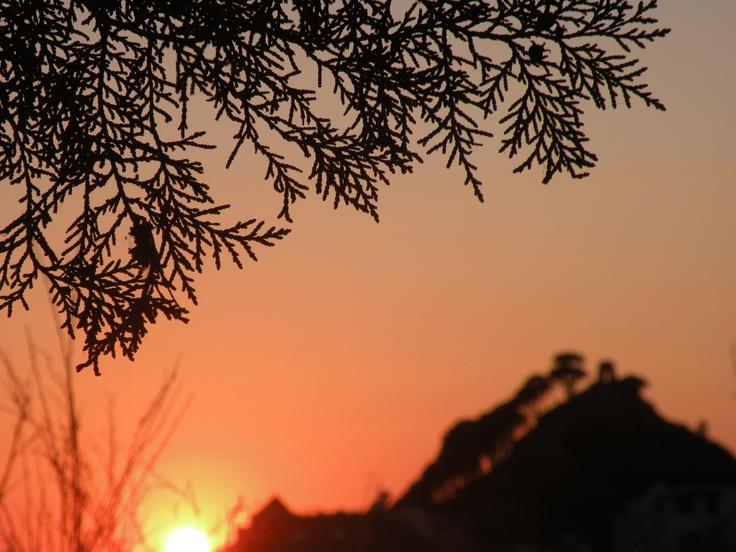 Sunset in Salice (ME)