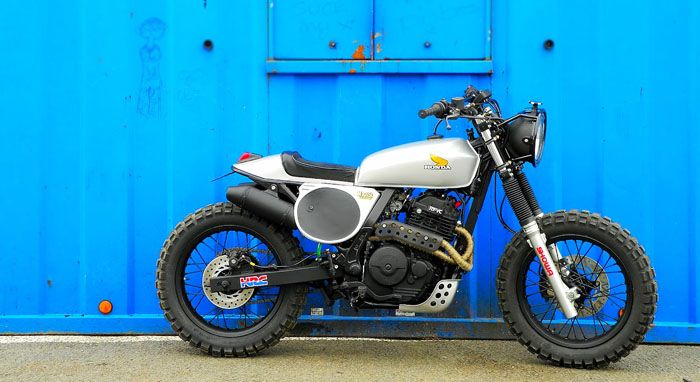 Garage Project Motorcycles - The Street Trackers you see here are based on the...: Motorcycles, Motorbike, Bikes, Honda Nx650, Dominator Streettracker, Nx650 Dominator, Cafe Racers