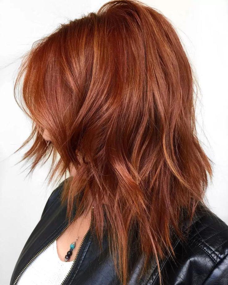 """""""Copper hair w babylights"""" Återskapa genom hårfärg och sen bleka här och var?"""