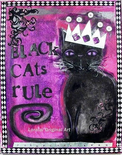 Black Cats by Loralai