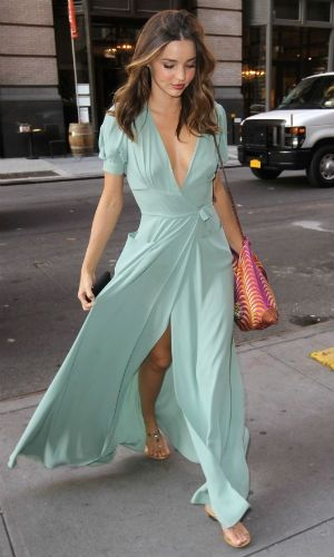 Flowing mint maxi dress <3