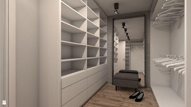 Garderoba - zdjęcie od A2 STUDIO pracownia architektury - Garderoba - A2 STUDIO pracownia architektury