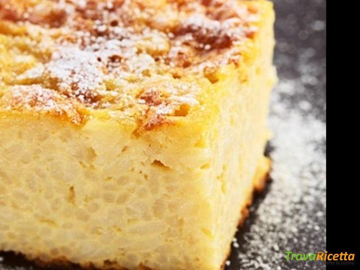 TORTA DI RISO SENZA GLUTINE  #ricette #food #recipes