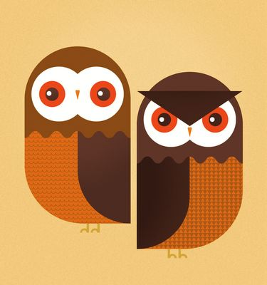 Owls by @skinnyShips