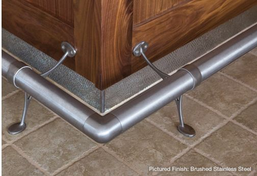 bar foot rail bar foot rail kitchen bar 10142