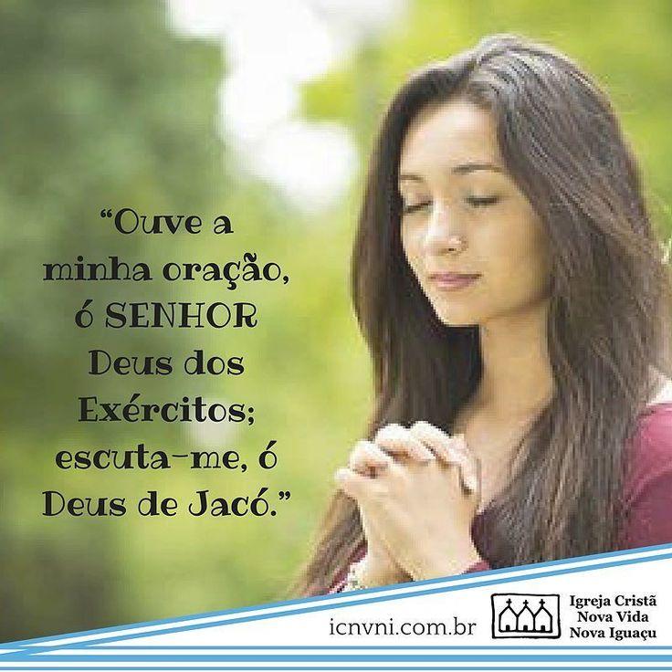 Ouve a minha oração ó Senhor Deus dos Exércitos; escuta-me ó Deus de Jacó. Salmos 84:8 PTNVIhttp://ift.tt/2j89wRm #icnvni