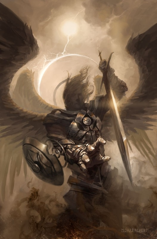 the existence of angels Well, you can do something like google pew poll angels demons  you would find that say, in 2007, 68% of americans believe that angels and demons are active in the world.