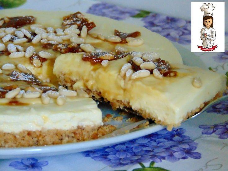 Cheesecake della nonna senza cottura