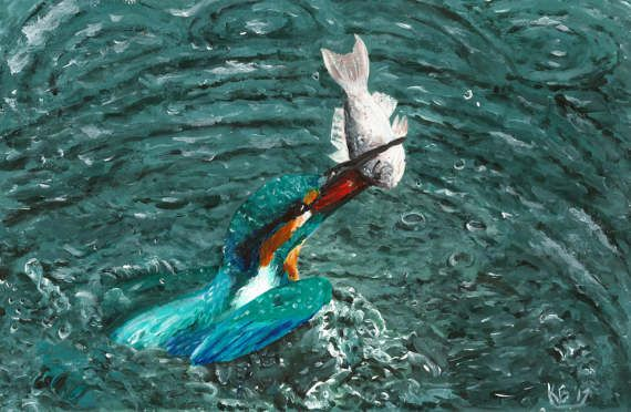Check out this item in my Etsy shop https://www.etsy.com/uk/listing/504709700/kingfisher-painting-print-acrylic
