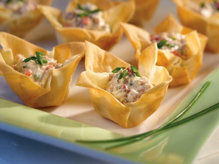 Tartelettes phyllo au thon recette de Clover Leaf
