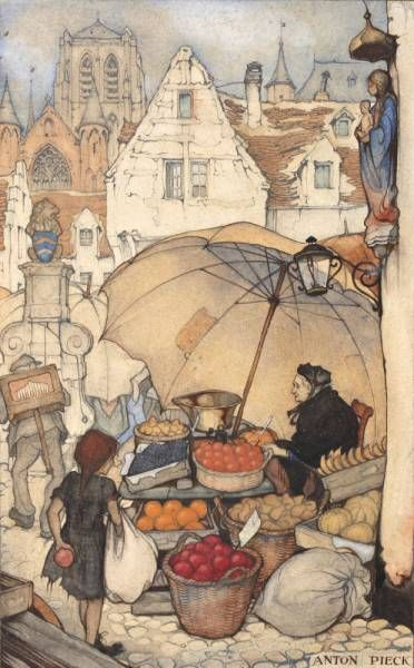 Zeichnung von Anton Franciscus Pieck (* 19. April 1895 in Den Helder; † 25…