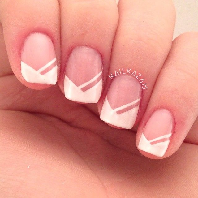 Best 25+ French tip nails ideas on Pinterest