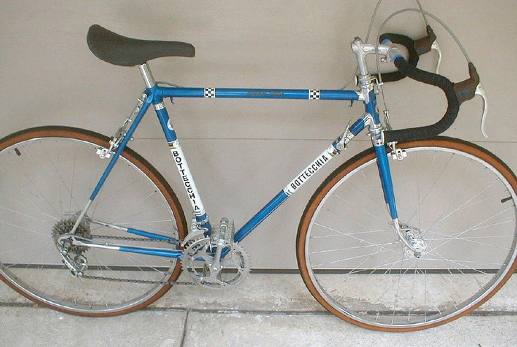 Bottecchia. Mine was not this cool. I rode it in the 2000 Bridge to Bridge with a 41x23 as my smallest gear. Grandfather Mt was b*tch.