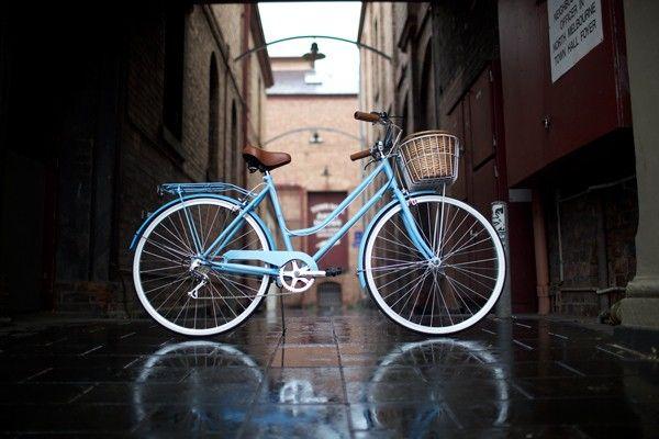 Reid Vintage Ladies Bike - Baby Blue