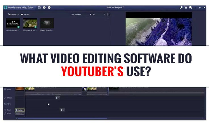 Check out the perfect list to know what video editing software do youTuber's Use &learn the trick & tips for creating catchy and shareable youtube videos.
