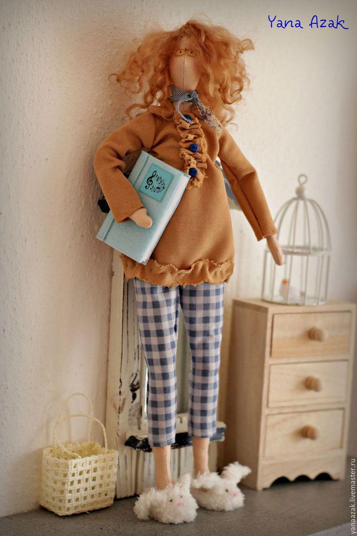 Купить Учительница Грета. - комбинированный, тильда, кукла Тильда, учительница, кукла учительница, подарок женщине