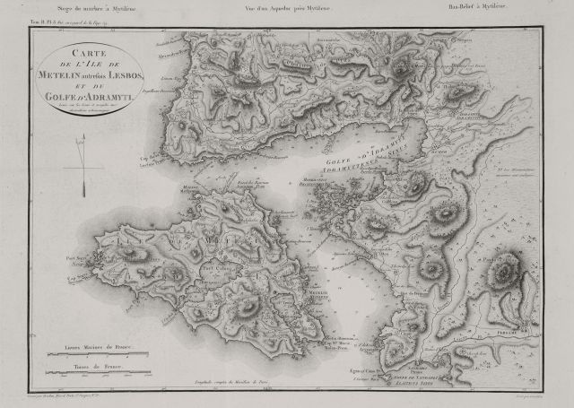 Lesvos and the Gulf of Adramyttion, 1809