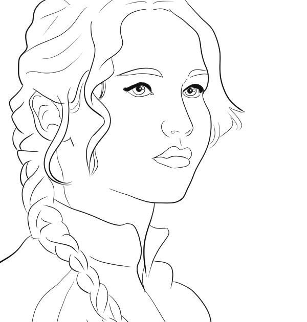 Free Hunger Games Coloring Pages Download Free Clip Art Free Free Hunger Games Coloring Pages Download Fre Hunger Games Fan Art Katniss Everdeen Hunger Games
