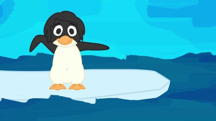 5 Pinguine - Kinderlieder deutsch zum Mitsingen von abclieder