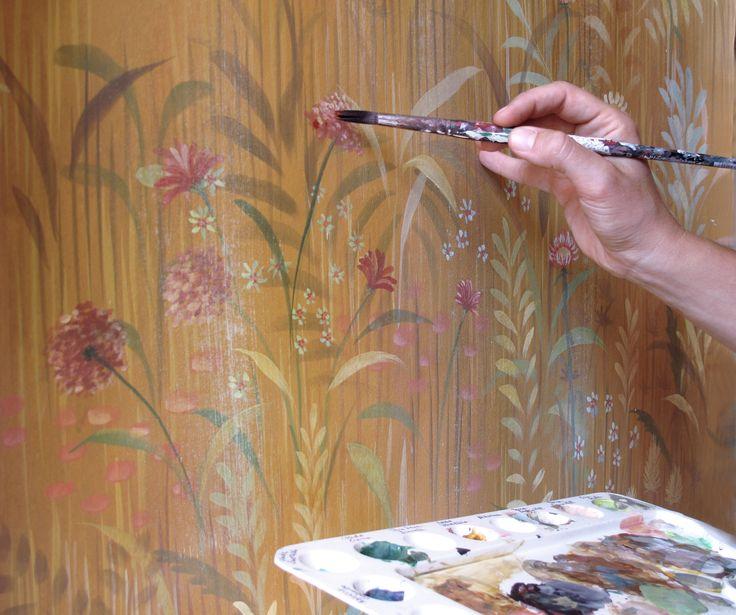 Picta handmade wallpaper - Magic forest decoration