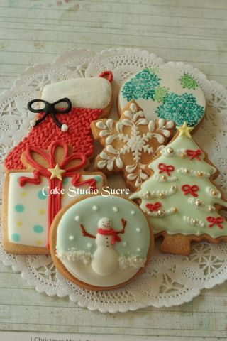Christmas cookie decorating ideas :) #xmas_present