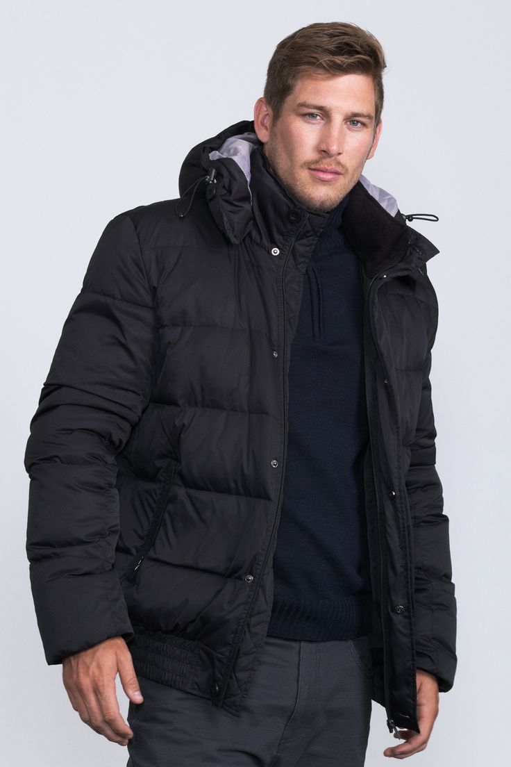 Puffer Jacket /  An insulating down jacket to keep you warm in winter.