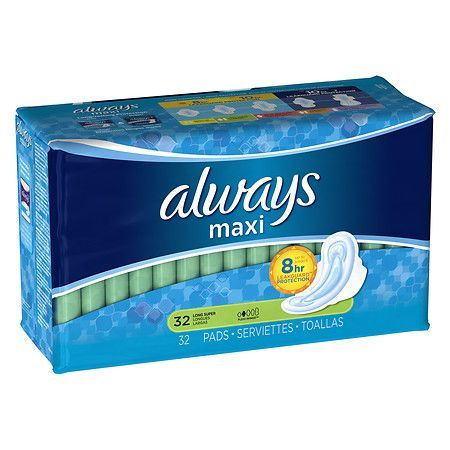 Always Maxi Pads, Super with Flexi-Wings - 32 ea