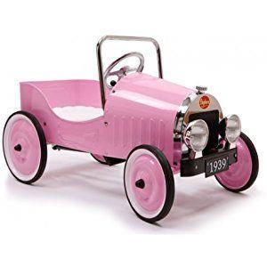 Le Petit Nouveau - Coche de pedales, color rosa (Baghera Clasico)
