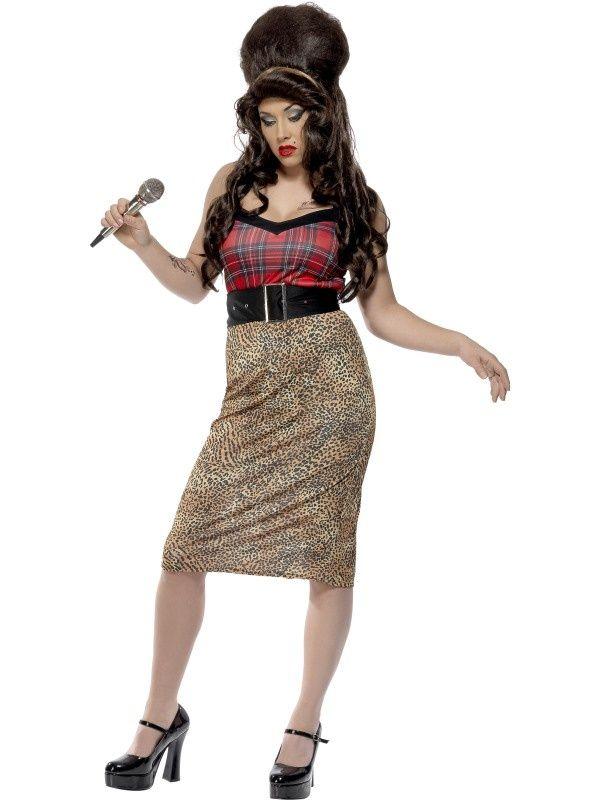 Strój w stylu niezapomnianej Amy Winehouse