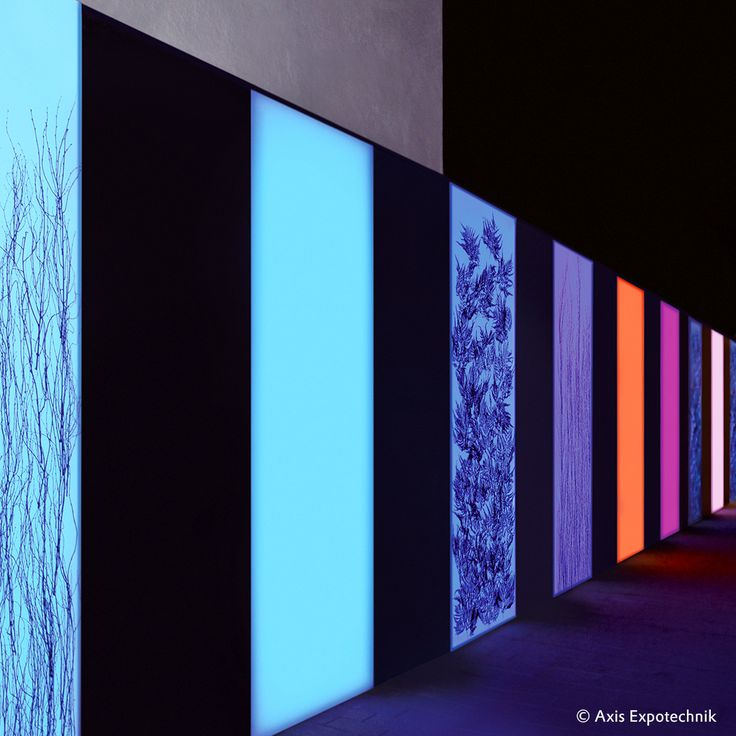 PLANAR LIGHT AS A DESIGN ELEMENT - Large-scale #LED lights give rooms and buildings a striking appearance and create a special atmosphere. #originalplexiglas #plexiglas #evonikplexiglas #acrylic #axis