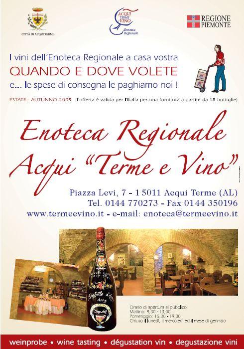 "Enoteca Regionale Acqui ""Terme e Vino"""