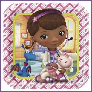 It's time for a check-up, and the prescription for a perfect party is to invite Doc McStuffins. She'll take care of all of your boo boos. http://www.allthatstuff.net/DocMcStuffins/doc-mcstuffins-party-supplies.html