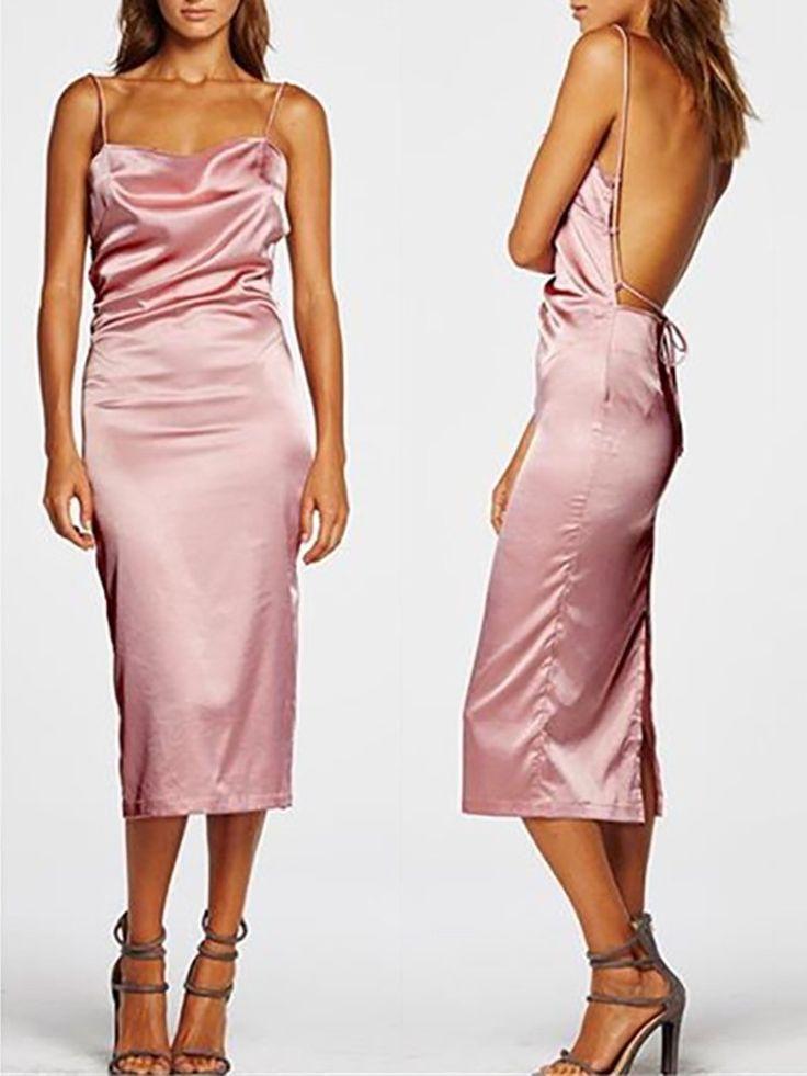 3068 best satin silk dresses images on Pinterest | Amber heard ...