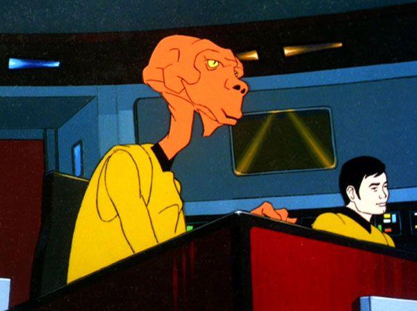 Arex, Star Trek animated series