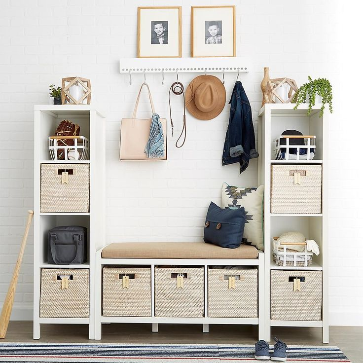 Fantastic Foyer Ideas To Make The Perfect First Impression: Best 20+ Storage Bins Ideas On Pinterest