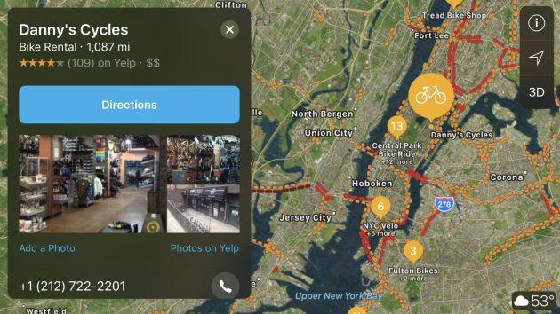 Apple Maps aggiunge le info sulle stazioni di ricarica EV in europa